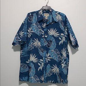 ( Aloha Style) Men's Hawaiian Shirt - Size 2XL
